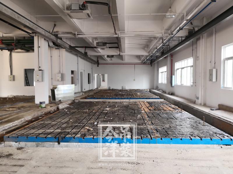 实验室铸铁平台(铁地板)安装