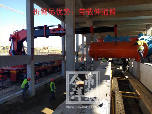 折臂吊:狭窄、低矮空间吊装
